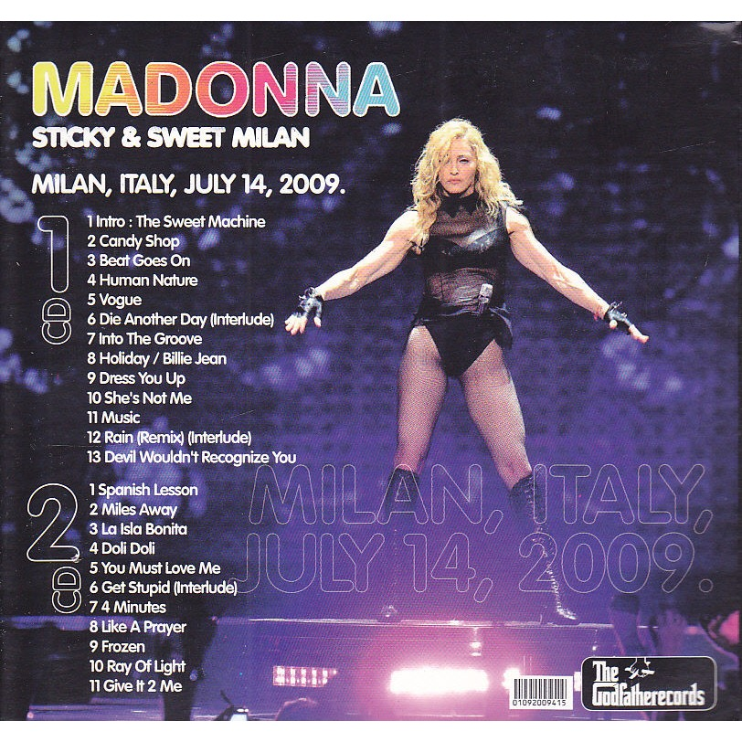 MADONNA - STICKY & SWEET MILAN (MILAN, ITALY, JULY, 14, 2009)