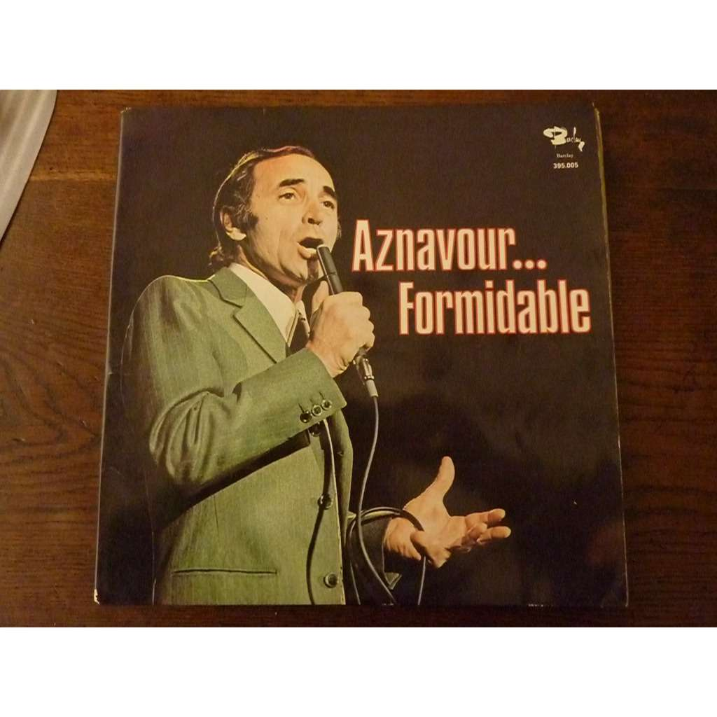 AZNAVOUR Charles .FORMIDABLE