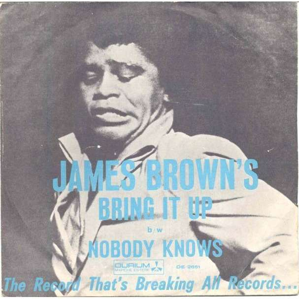 James Brown Bring it up (Italian 1967 2-trk 7single unique ps)
