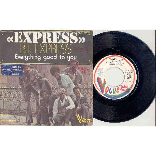 B.T. Express EXPRESS (FRENCH 1975 2-TRK 7 FULL PS)