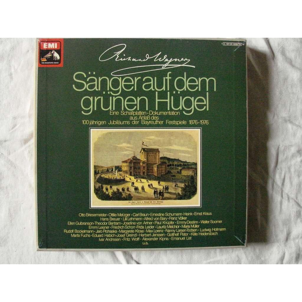 Centenaire du Festival de Bayreuth 1876 - 1976 Wagner : 140 artistes lyriques participent a cette célébration