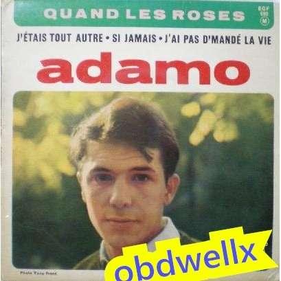 ADAMO Salvatore Quand les roses