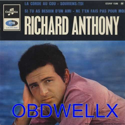 ANTHONY Richard  La corde au cou