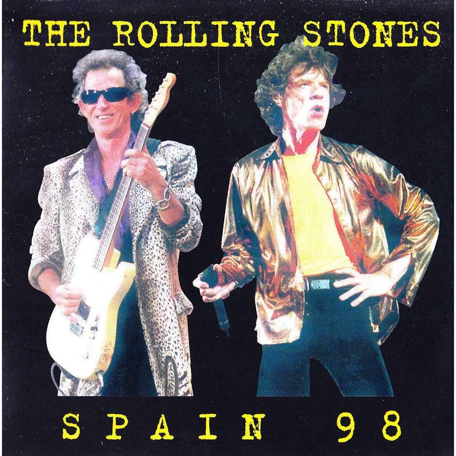 ROLLING STONES - SPAIN 98 (BALAIDOS STADIUM, VIGO, SPAIN, JULY, 18, 1998)