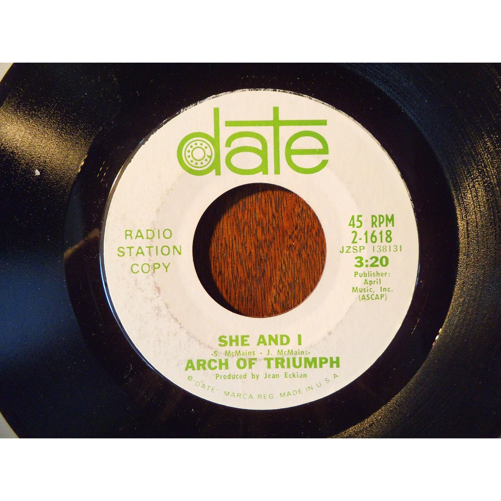 arch of triumph ( radio station copy promo ) my year is a day / she and i