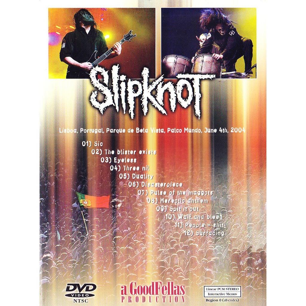 SLIPKNOT - HERETIC ANTHEMS (LISBOA, PORTUGAL, JUNE, 04, 2004)