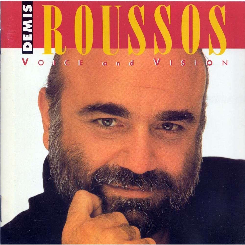 Voice And Vision By Demis Roussos Cd With Minkocitron