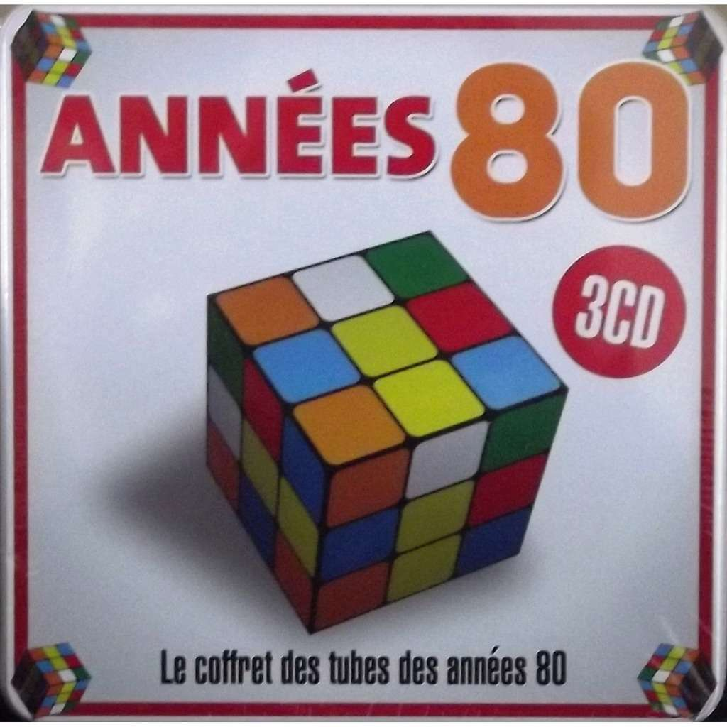 tubes des ann es 80 box set 3 cd 60 tracks de divers various compilation va collectif. Black Bedroom Furniture Sets. Home Design Ideas