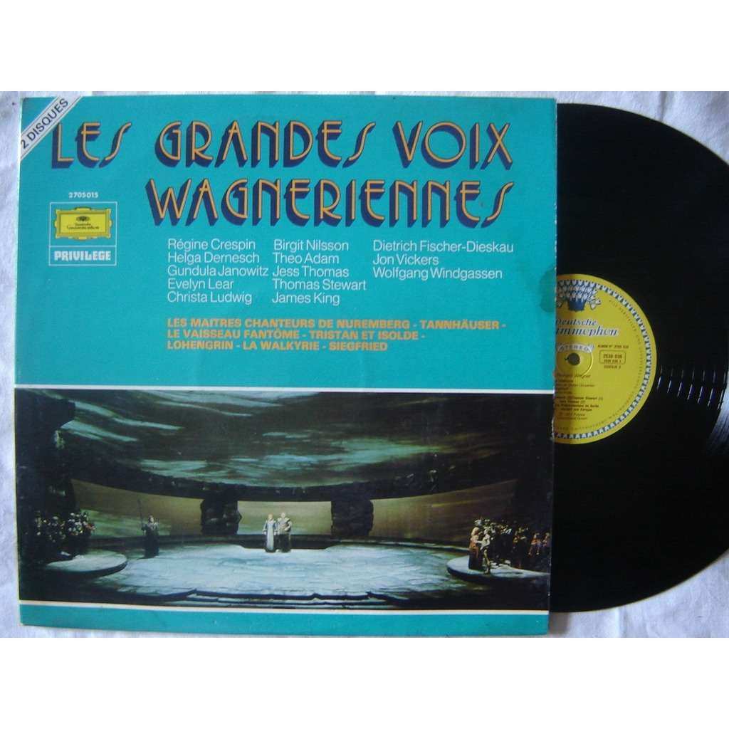 Crespin - Janowitz - Lear - Nilsson - Ludwig les grandes wagneriennes