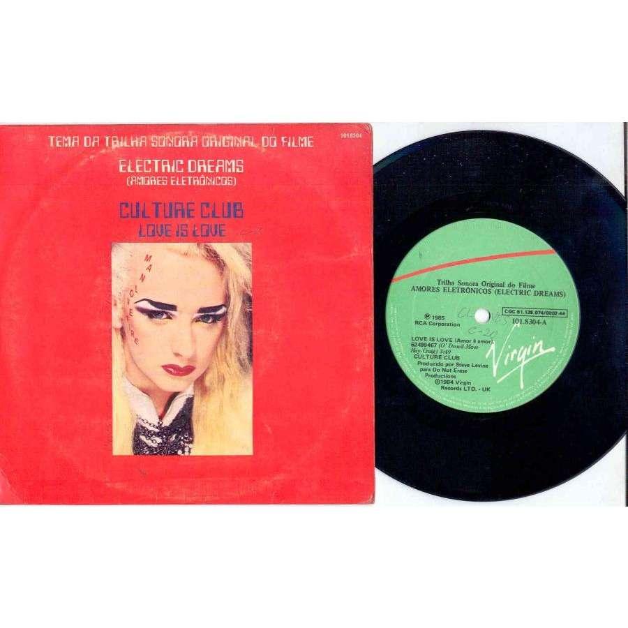 Boy George / Culture Club Amor E' Amor (Brazil 1985 Ltd 2-trk 7 absolutely unique full ps)