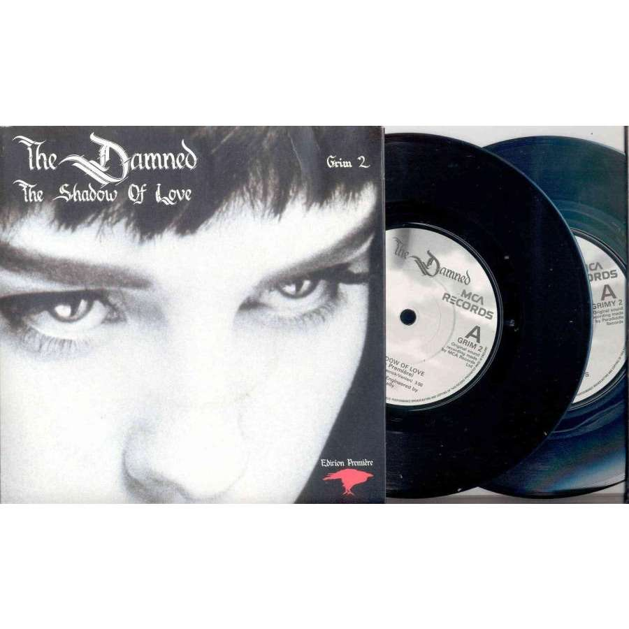 DAMNED The Shadow Of Love (UK 1985 Ltd 4-trk 7single double pack full gf ps)