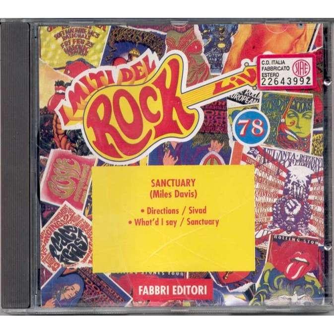 Miles Davis Sanctuary (Vienna 1971) (Italian 1994 'Il Rock' promo live CD ps)