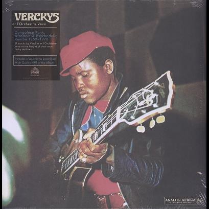 Verckys et l'Orchestre Vévé Congolese funk, afrobeat & psychedelic rumba 1969-78