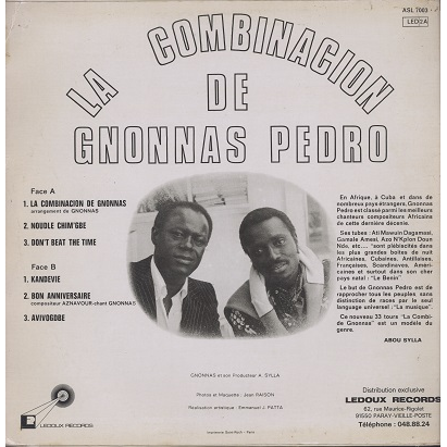 Gnonnas Pedro La combinacion de Gnonnas Pedro