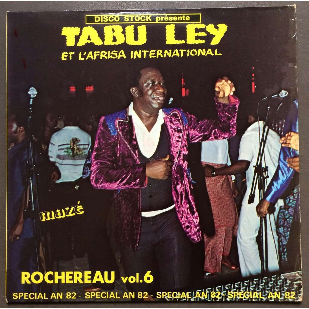 tabu ley & l'afrisa international rochereau vol 6 (maze)