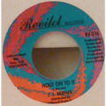 J.J. BARNES - Now she's gone / Hold on to it - 7inch (SP)