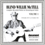 BLIND WILLIE MCTELL - Complete Recorded Works In Chronological Order: Volume 1 (18 October 1927 To 23 October 1931) - CD