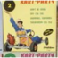 KART-PARTY - Don't be cruel n2 - 7inch (EP)