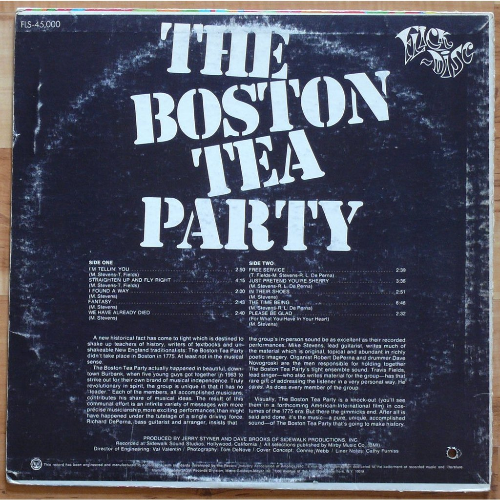 an analysis of the boston tea party and the opinions of alfred young Defiance of the patriots: the boston tea party and the making of america and the two young mess-rs the boston tea party had led to the war of american.