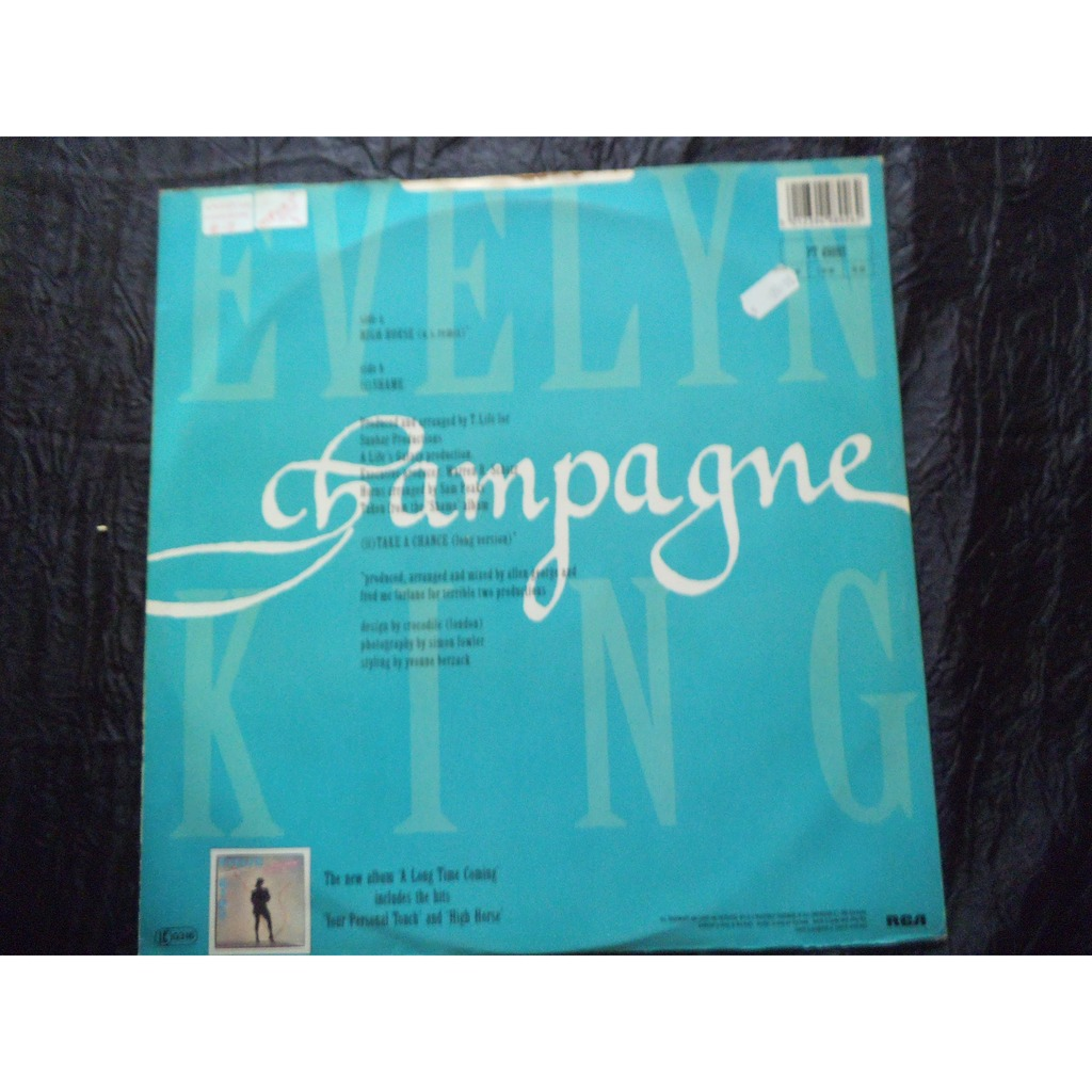 Evelyn 'Champagne' King High Horse - US Remix