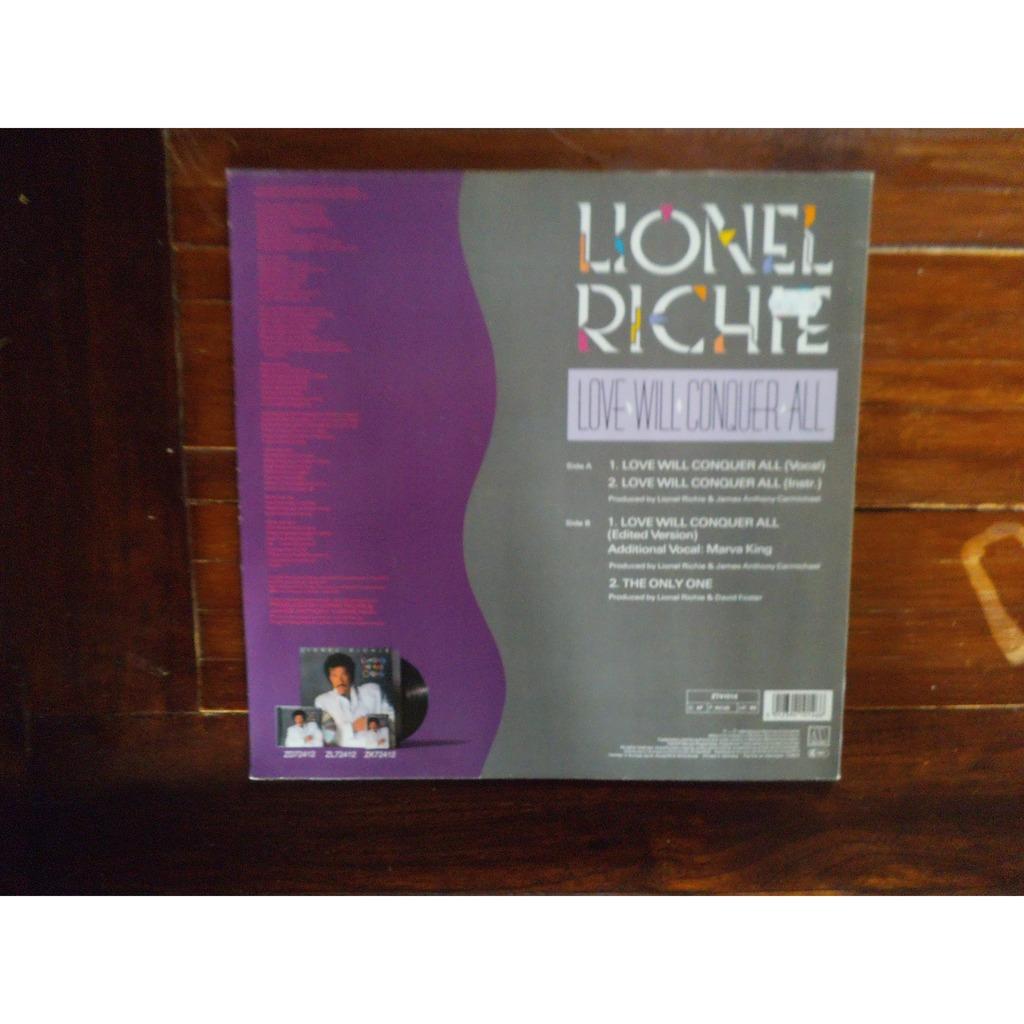 Lionel Richie Love Will Conquer All