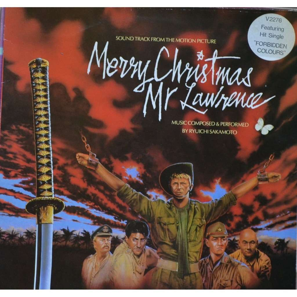 Merry christmas mr.lawrence by Ryuichi Sakamoto David Bowie, LP ...