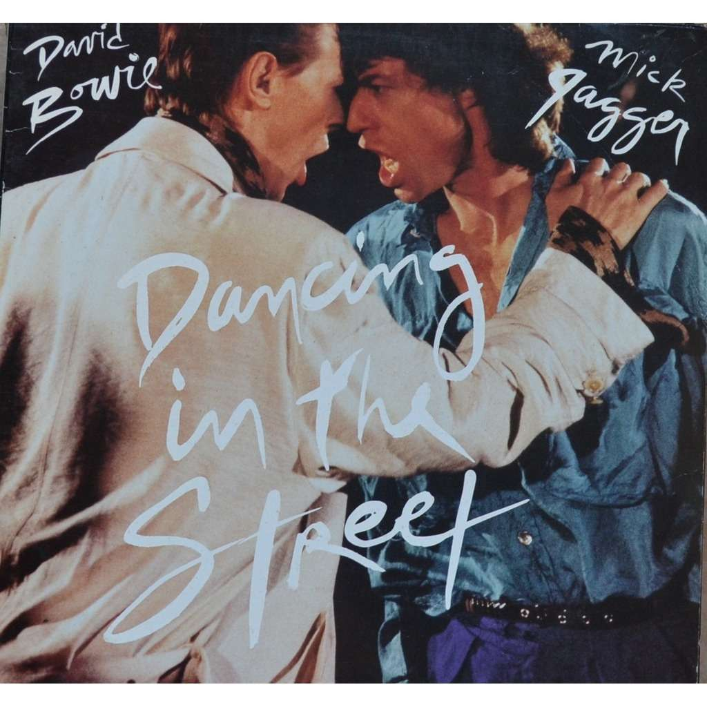 david bowie mick jagger dancing in the street