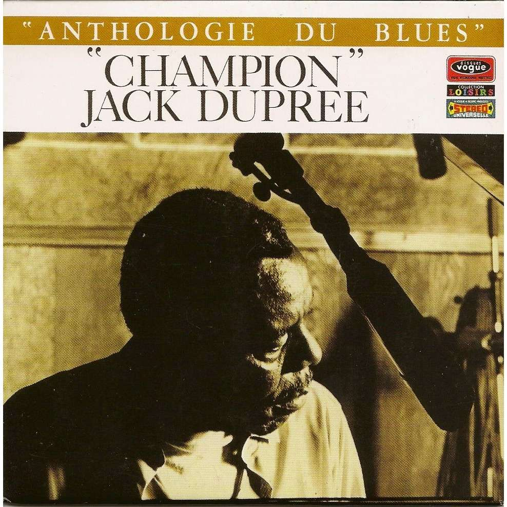 Anthologie Du Blues By Champion Jack Dupree Cd With