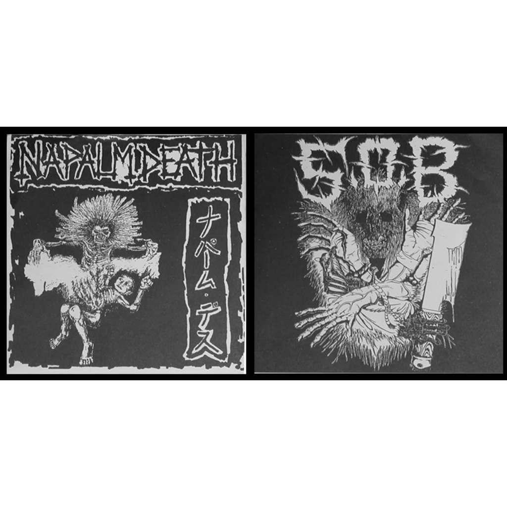 s.o.b / napalm death S.O.B.* / Napalm Death split 7 flexi disc