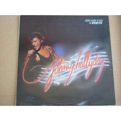 johnny hallyday double album 20 titres au zenith