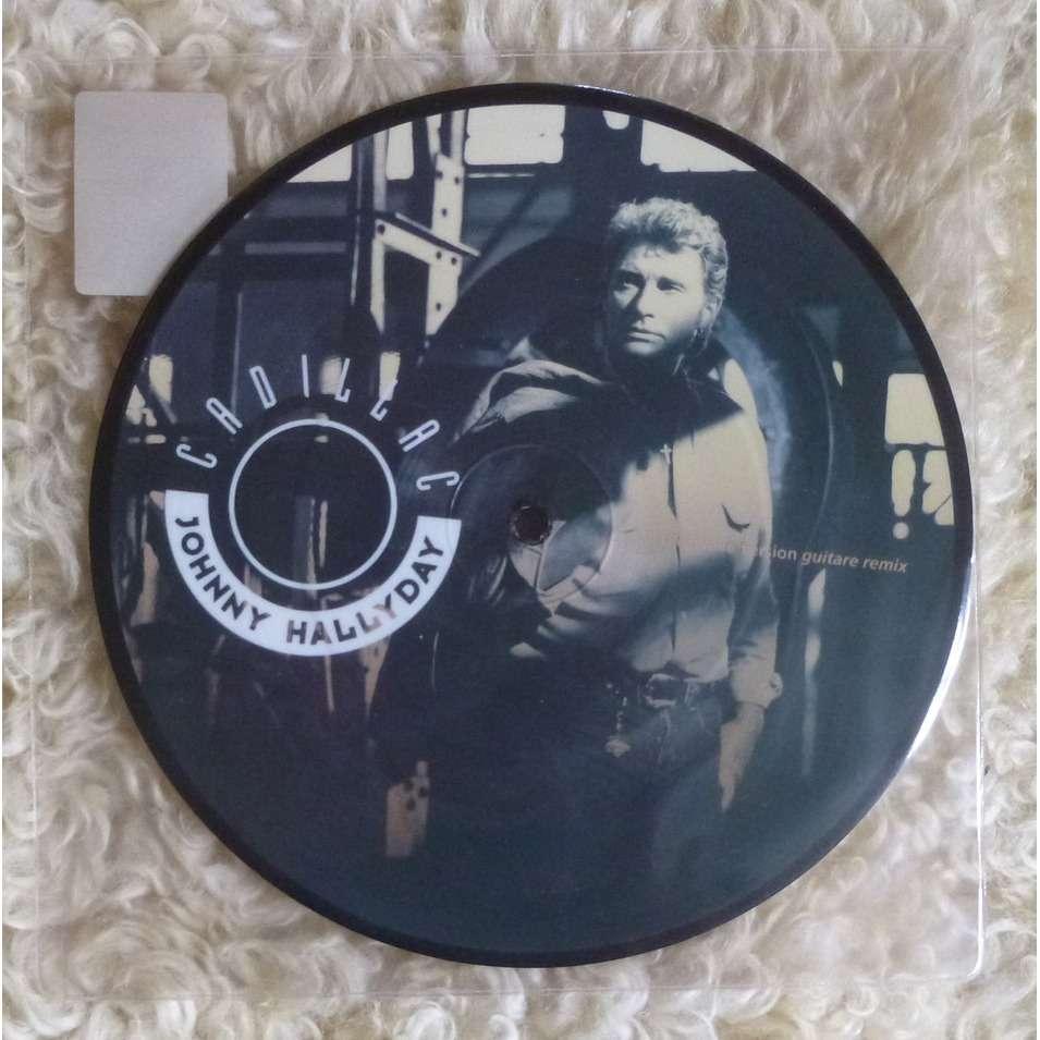 cadillac rare picture disc de johnny hallyday sp chez geminicricket ref 117385527. Black Bedroom Furniture Sets. Home Design Ideas