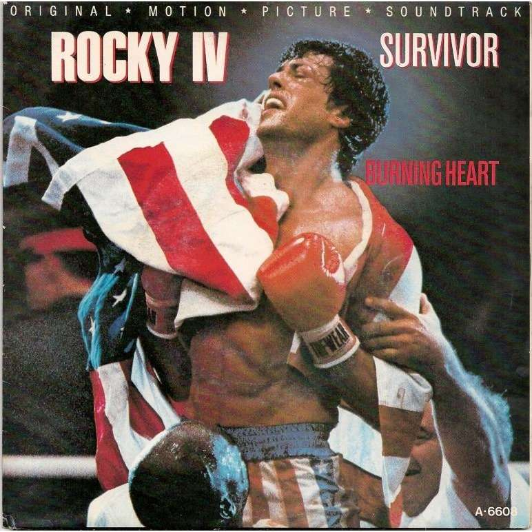 SURVIVOR bo rocky 4 : burning heart / feels like love