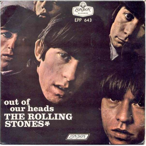 Rolling Stones Out of our Heads (Mexico 1965 4-trk 7ep unique ps)