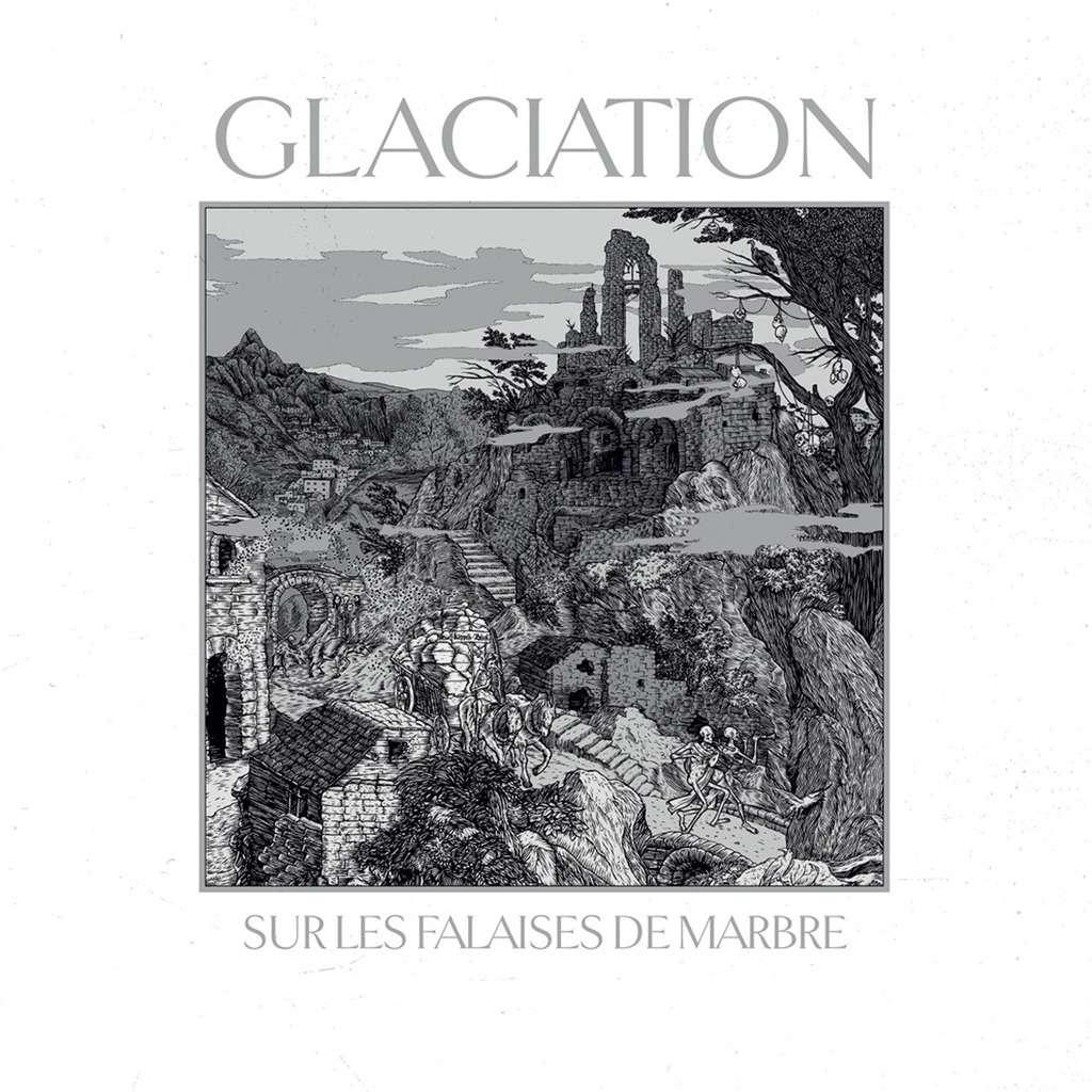 GLACIATION Sur les Falaises de Marbre. White Vinyl