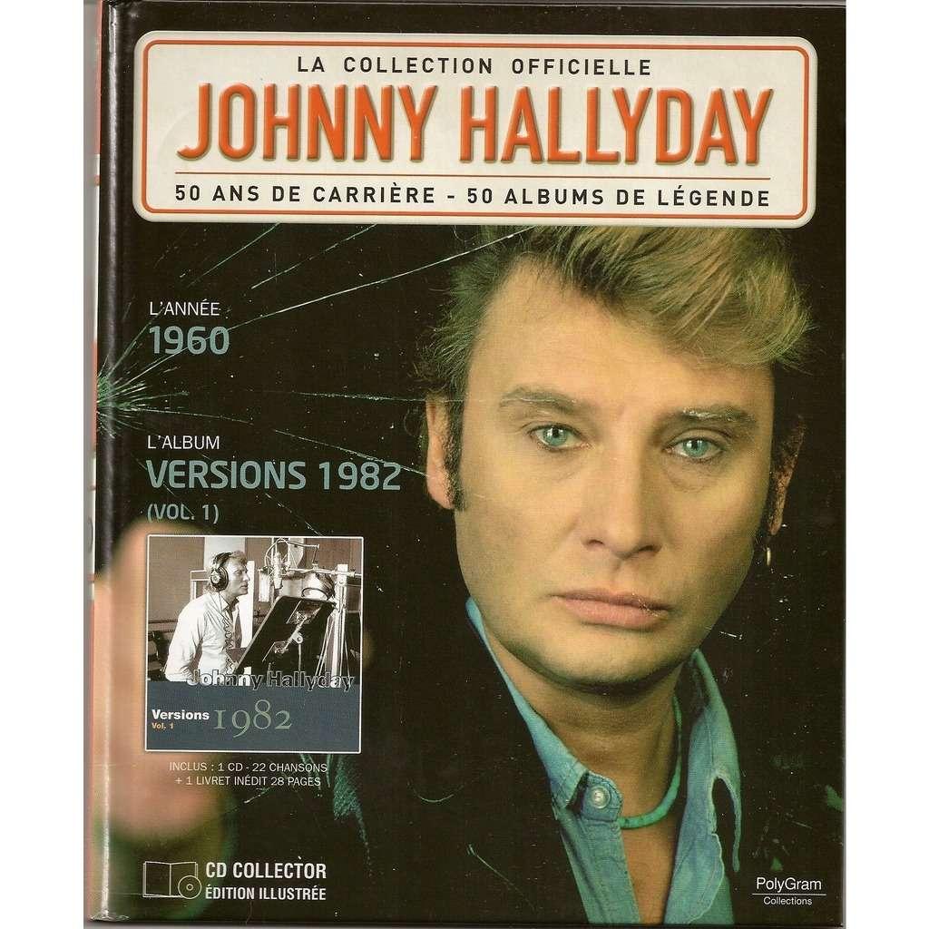 collection officielle versions 1982 vol 1 de johnny hallyday cd chez kroun2 ref 117388089. Black Bedroom Furniture Sets. Home Design Ideas