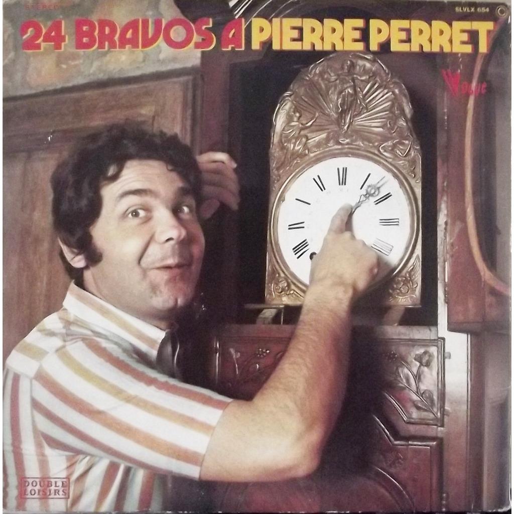 Pierre Perret 24 Bravos À Pierre Perret (Gatefold)