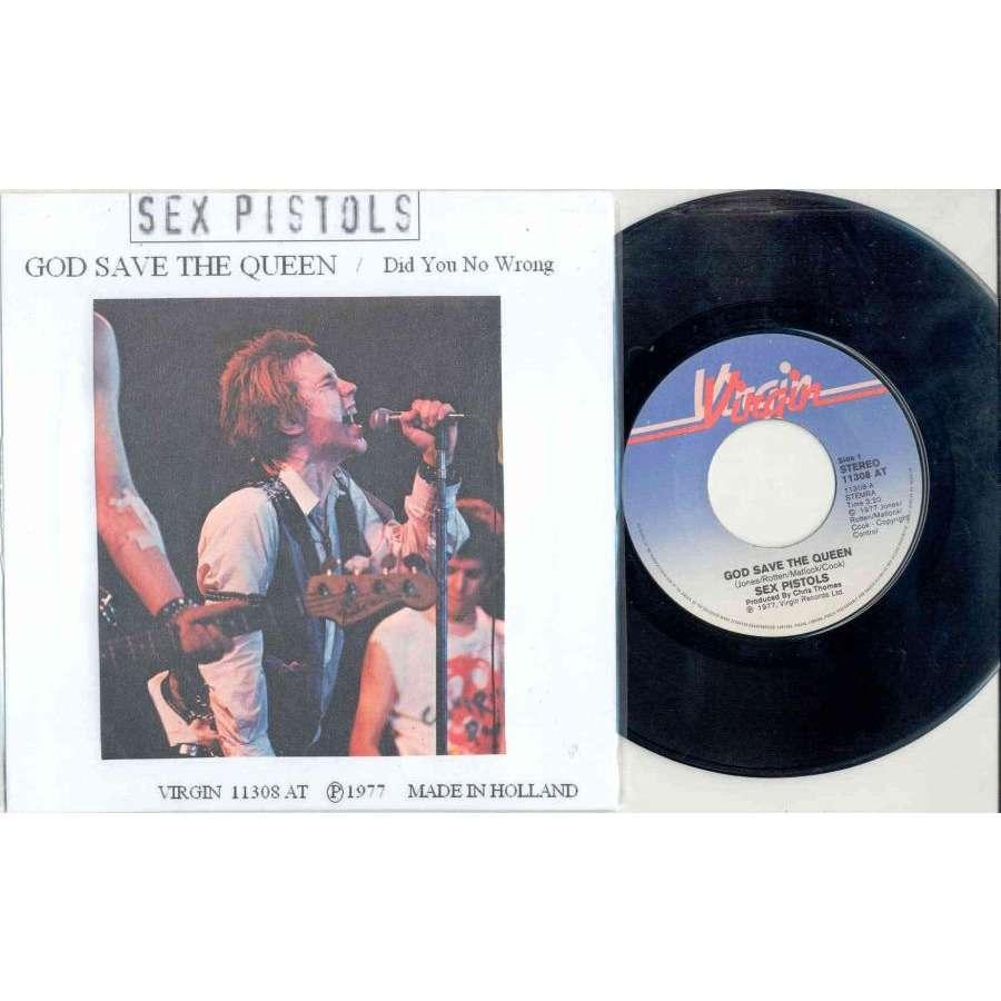 Sex Pistols God Save the Queen (Holland 1977 2-trk 7 unique 'private
