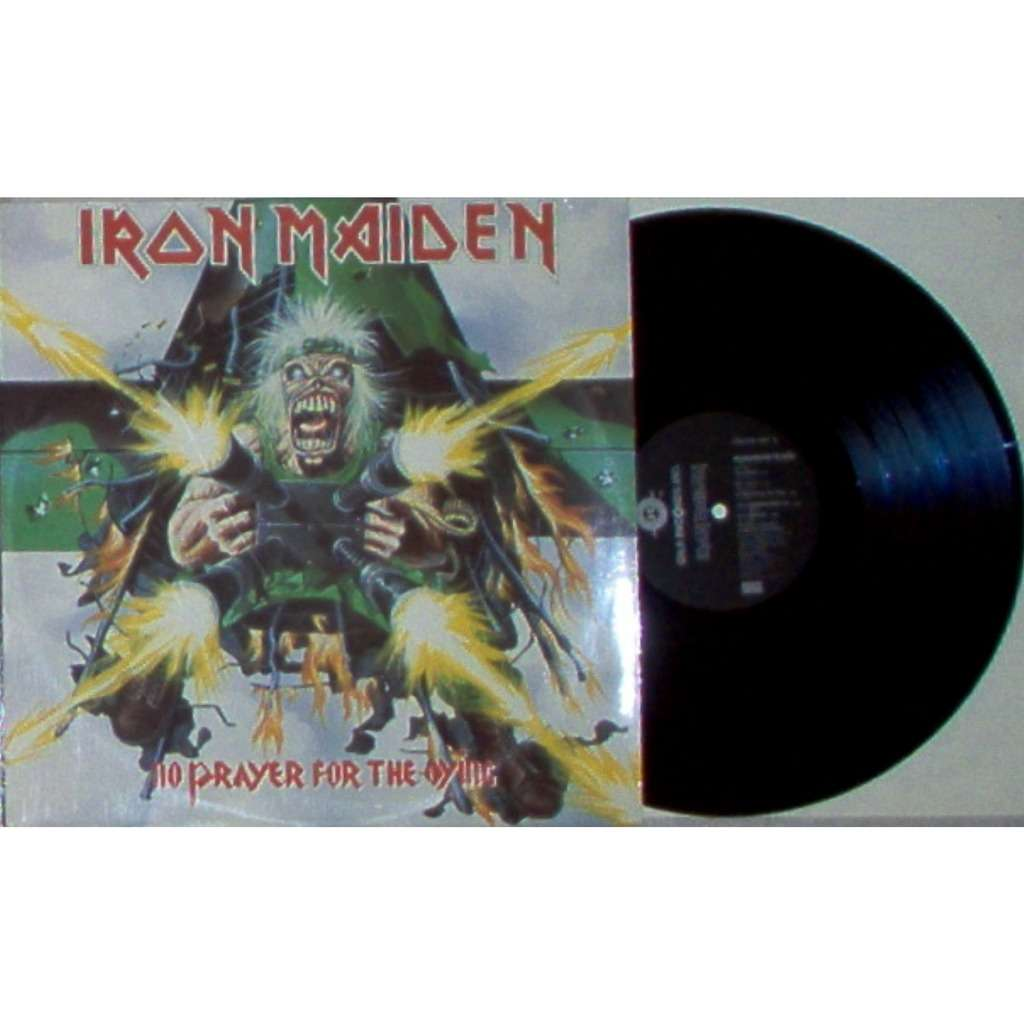 Iron Maiden No Prayer For The Dying (Russia 1990 original 10-trk LP on Gala Records lbl unique ps)