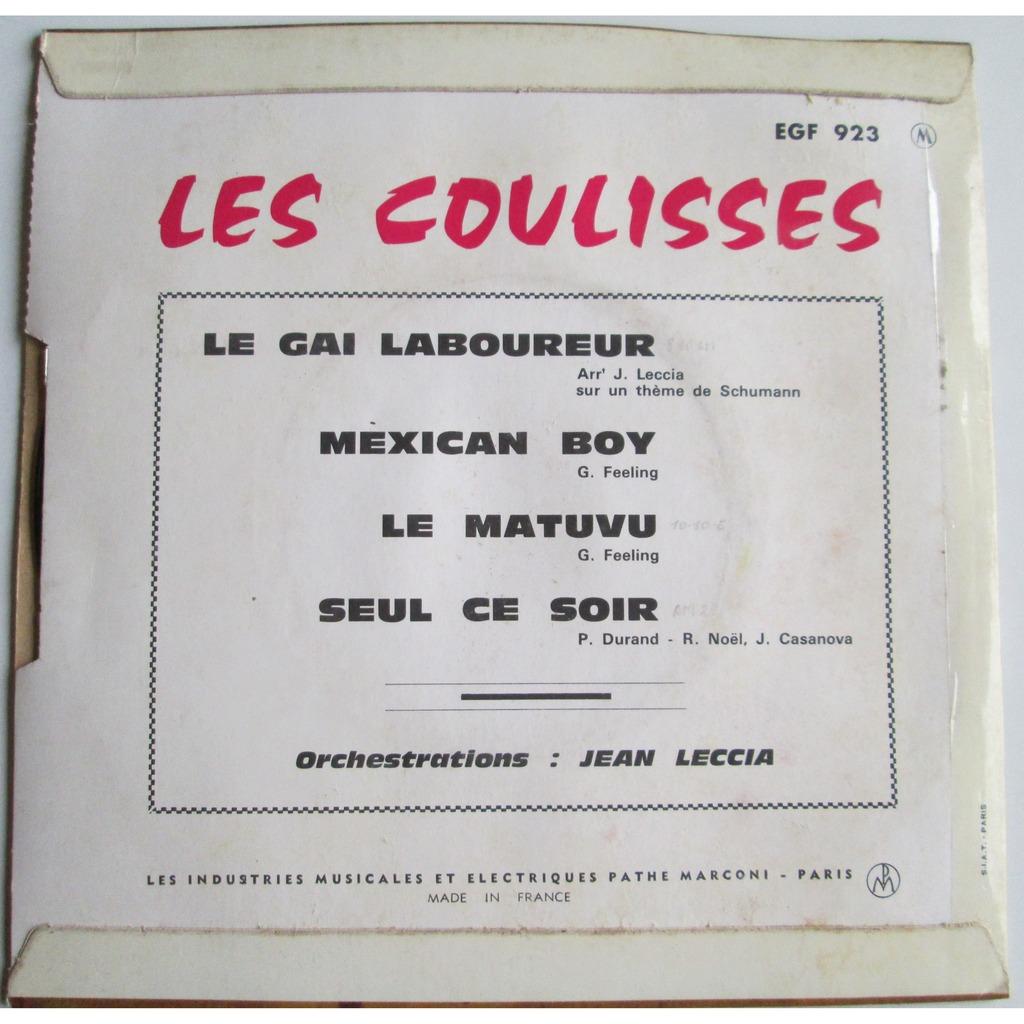 COULISSES LES LE GAI LABOUREUR +3