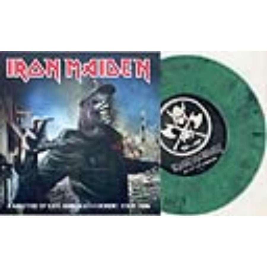 Iron Maiden A Matter Of Life & Death Nordic Tour 2006 (Ltd 25 copies 2-trk live 7 GREEN marbled vinyl unique ps)