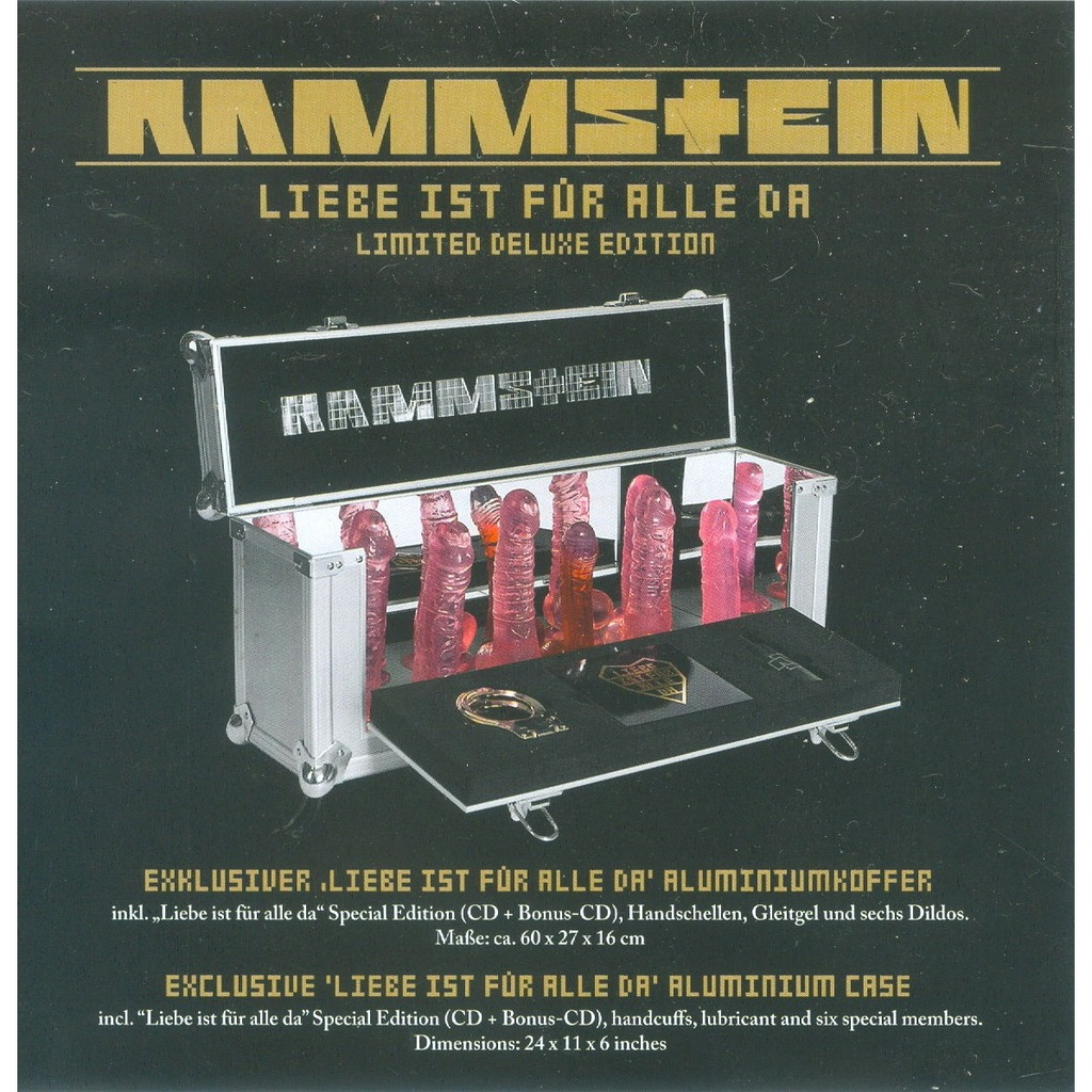 Liebe Ist Fur Alle Da German 2009 Ltd Deluxe Edition 2cd Album