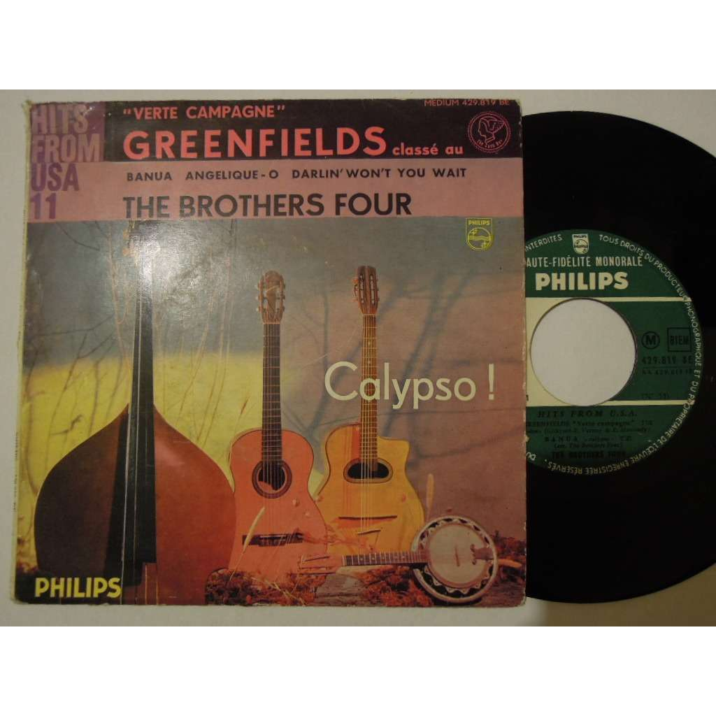 the brothers four greenfields - pochette mate