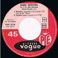 SOUNDS ORCHESTRAL moonglow ( du film ' picnic ' ) +3 ( 3eme EP )