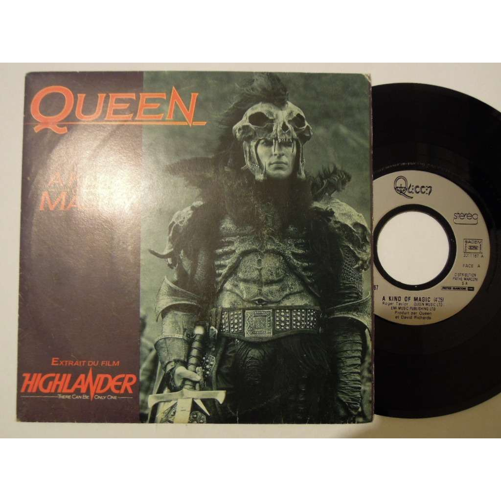 queen a kind of magic - highlander