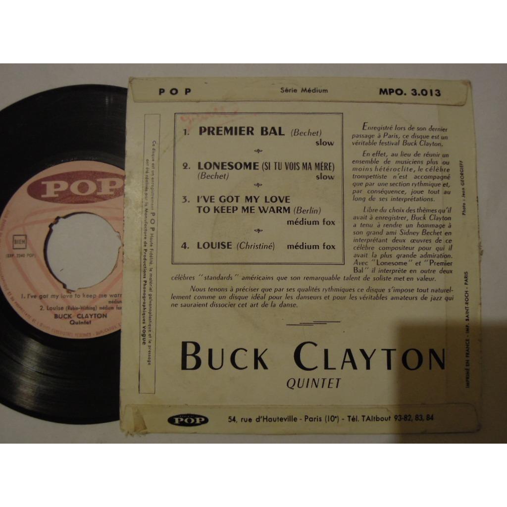 buck clayton quintet premier bal