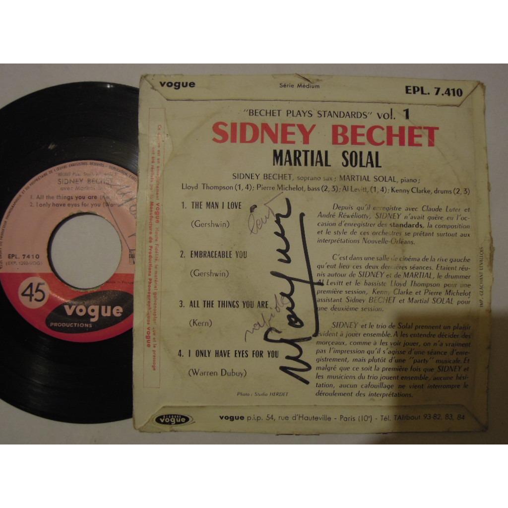 sydney bechet avec solal martial bechet plays standards 1 - the man i love