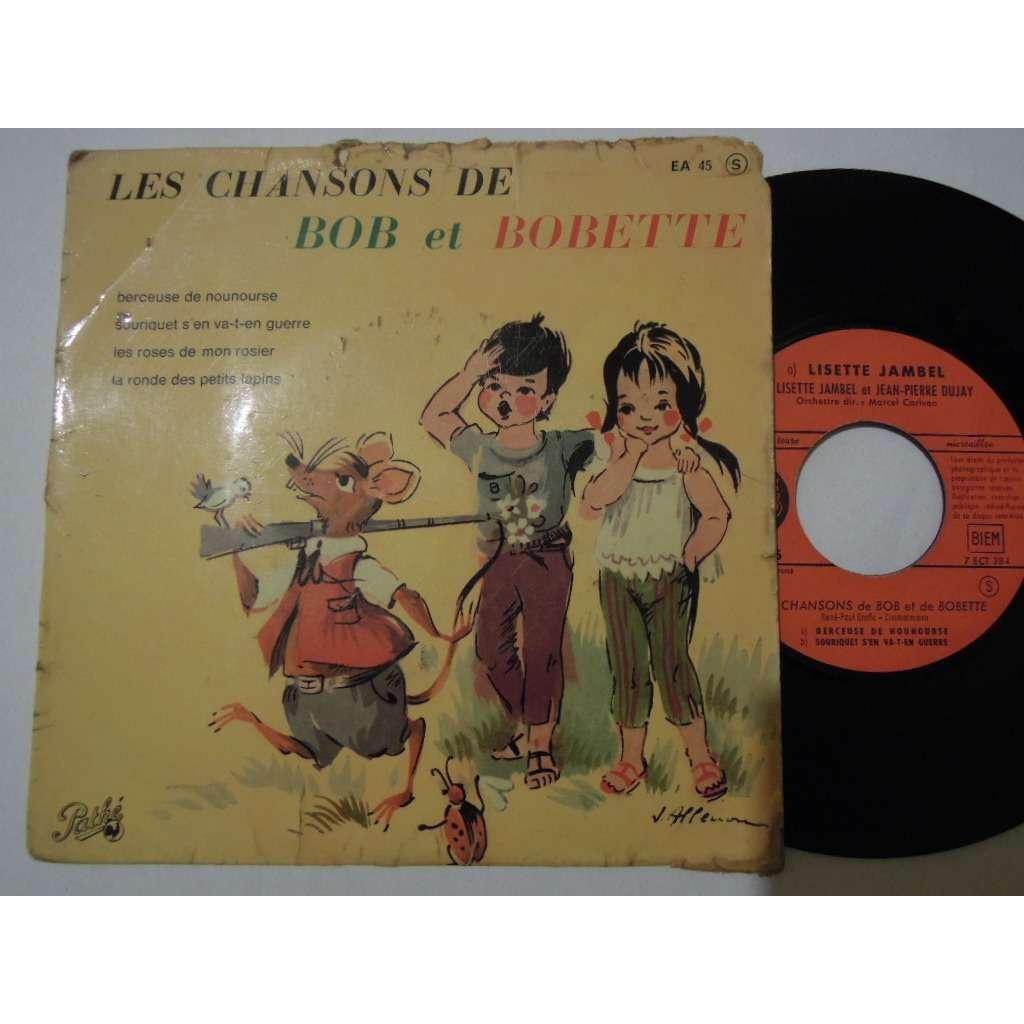 lisette jambel & dujay jean pierre les chansons de bob et bobette - berceuse de nounourse