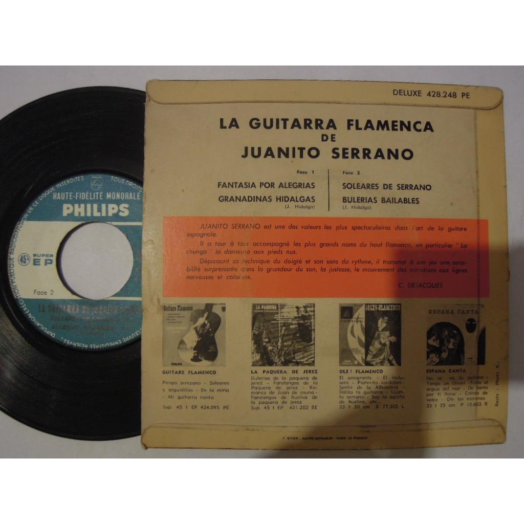 juanito serrano la guitarra flamenca - fantasia por alegrias