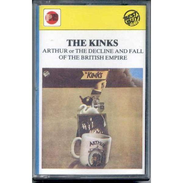 The Kinks Arthur or The Decline And Fall Of The British Empire (Italian 1983 12-trk Cassette album unique ps)