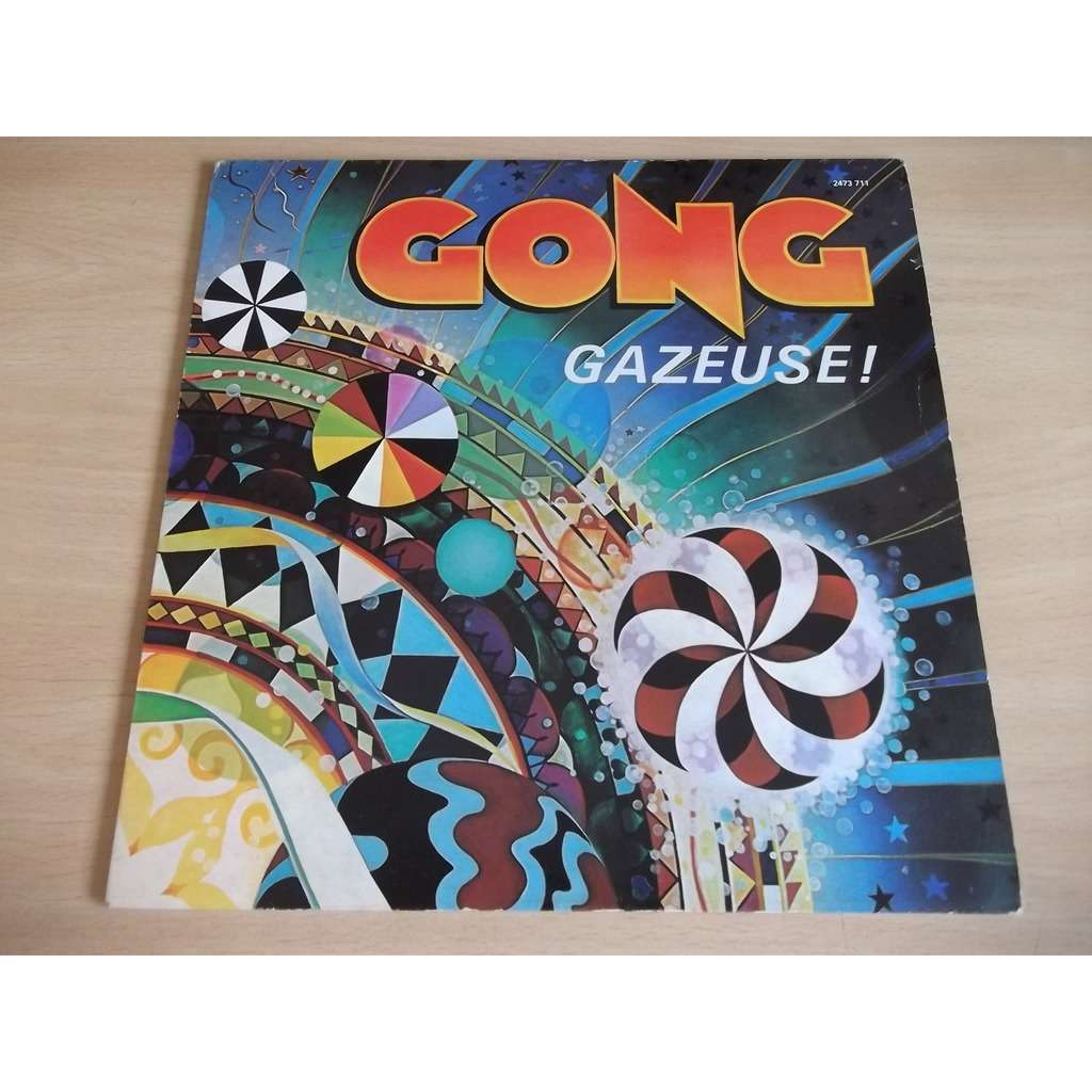 GONG Gazeuse + poster